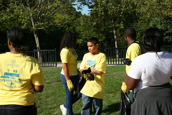 YLA Creek Clean Up 2009